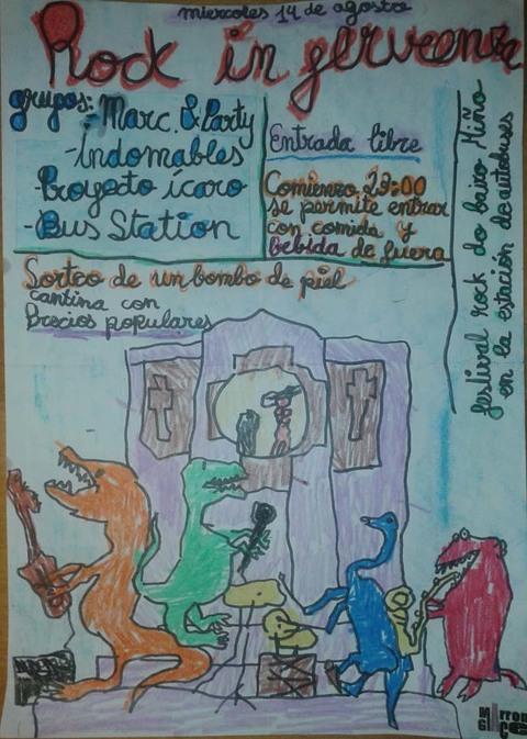 Infominho - ROCK IN FERVENZA 2013 O MÉRCORES 14 DE AGOSTO NA GUARDA - INFOMIÑO - Informacion y noticias del Baixo Miño y Alrededores.