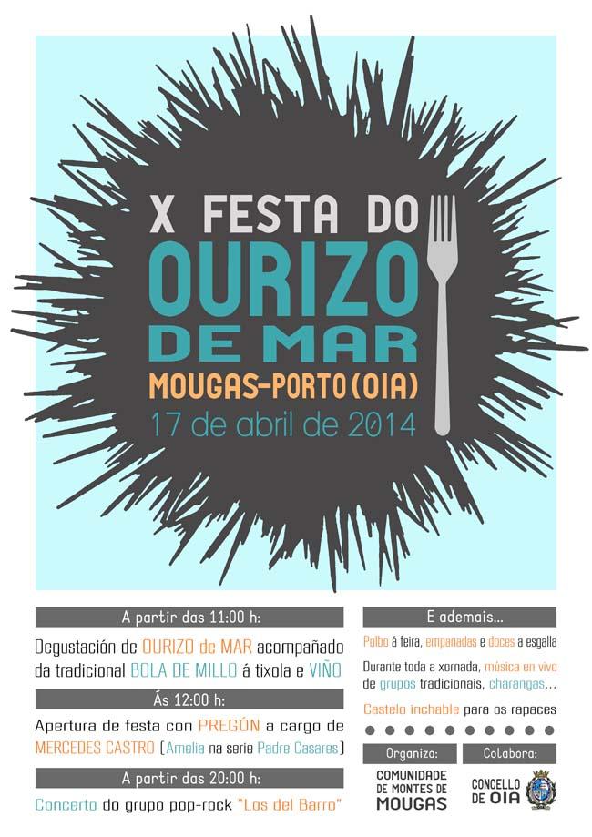 Infominho - X FESTA DO OURIZO DE MAR DE MOUGÁS O 17 DE ABRIL DE 2014 - INFOMIÑO - Informacion y noticias del Baixo Miño y Alrededores.