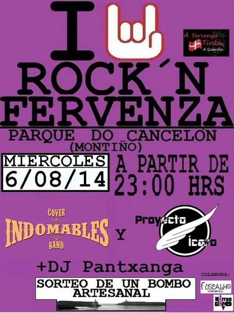 Infominho - ROCK N FERVENZA 2014 O MÉRCORES 6 DE AGOSTO - INFOMIÑO - Informacion y noticias del Baixo Miño y Alrededores.