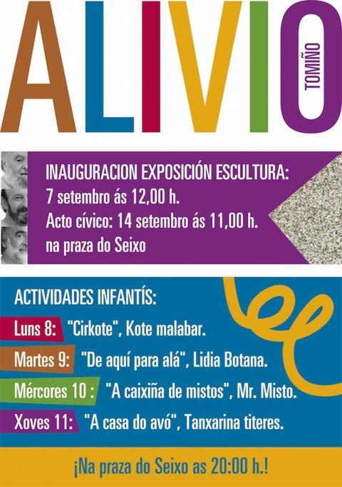 Infominho -  PROGRAMACI�N FESTAS DO ALIVIO 2014 - INFOMI�O - Informacion y noticias del Baixo Mi�o y Alrededores.