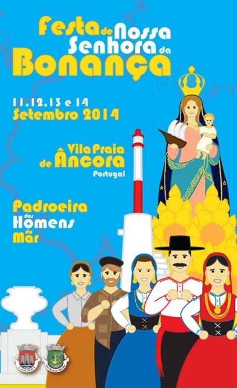 Infominho -  FESTAS EM HONRA DE NOSSA SENHORA DA BONAN�A 11-14 SETEMBRO 2014 - INFOMI�O - Informacion y noticias del Baixo Mi�o y Alrededores.