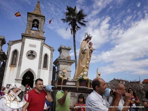 Infominho -  ESPECIAL - PROCESI�N DA VIRXE DAS MERCEDES NA G�NDARA-A GUARDA - INFOMI�O - Informacion y noticias del Baixo Mi�o y Alrededores.