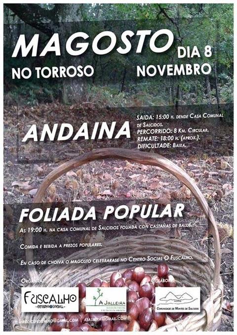 Infominho -  MAGOSTO E ANDAINA O 8 DE NOVEMBRO NO TORROSO-A GUARDA - INFOMI�O - Informacion y noticias del Baixo Mi�o y Alrededores.