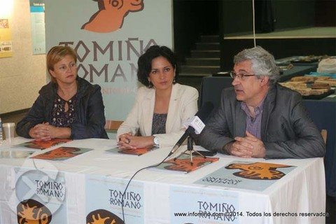 Infominho -  ESPECIAL - TOMI�O PON EN VALOR O XACEMENTO ROMANO DE CURR�S CUNHA EXPOSICI�N - INFOMI�O - Informacion y noticias del Baixo Mi�o y Alrededores.