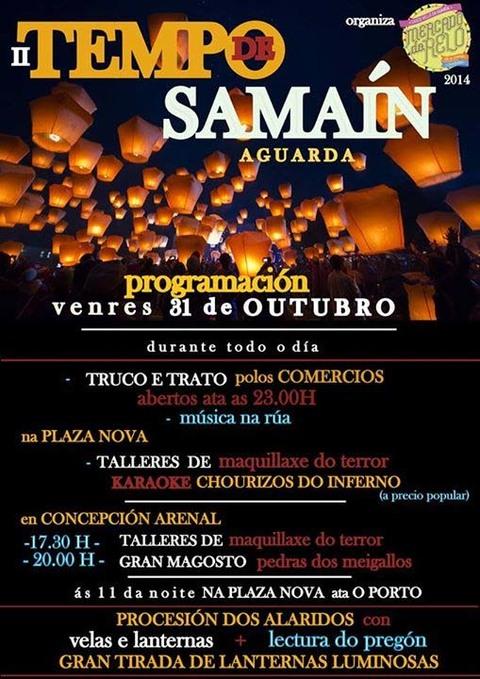 Infominho -  II TEMPO DE SAMA�N HOXE VENRES 31 DE OUTUBRO NA GUARDA - INFOMI�O - Informacion y noticias del Baixo Mi�o y Alrededores.