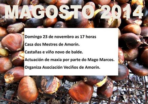 Infominho -  MAGOSTO DA ASOCIACI�N DE VECI�OS DE AMOR�N ESTE DOMINGO - INFOMI�O - Informacion y noticias del Baixo Mi�o y Alrededores.