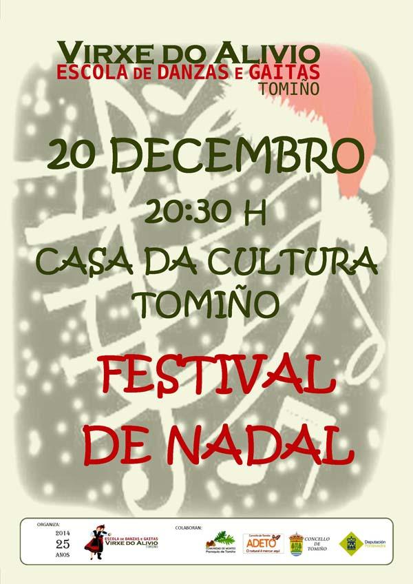 Infominho -  FESTIVAL DE NADAL 2014 DA ASOCIACI�N ESCOLA DE DANZA E GAITAS VIRXE DO ALIVIO - INFOMI�O - Informacion y noticias del Baixo Mi�o y Alrededores.