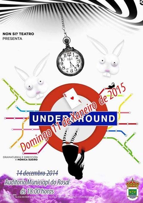 Infominho -  TEATRO -UNDERGROUND - O 11 DE XANEIRO NO ROSAL - INFOMI�O - Informacion y noticias del Baixo Mi�o y Alrededores.