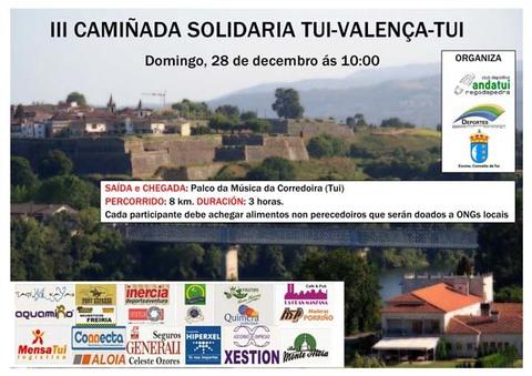 Infominho - CAMIÑADA SOLIDARIA TUI-VALENCA O 28 DE DECEMBRO DE 2014 - INFOMIÑO - Informacion y noticias del Baixo Miño y Alrededores.