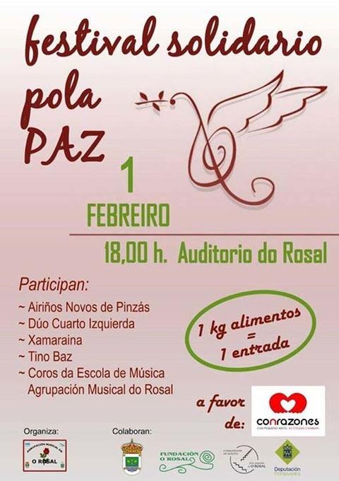 Infominho -  FESTIVAL SOLIDARIO O 1 DE FEBREIRO NO AUDITORIO MUNICIPAL DO ROSAL - INFOMI�O - Informacion y noticias del Baixo Mi�o y Alrededores.
