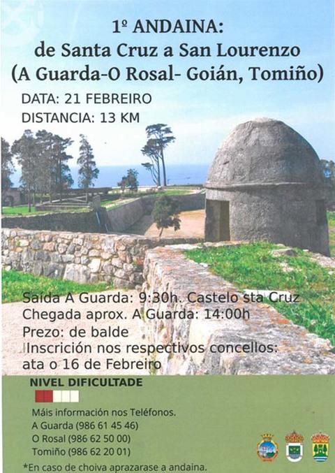 Infominho -  I ANDAINA DE SANTA CRUZ A SAN LOURENZO O 21 DE FEBREIRO - INFOMI�O - Informacion y noticias del Baixo Mi�o y Alrededores.