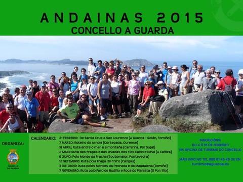 Infominho -  ANDAINAS A GUARDA 2015 - INFOMI�O - Informacion y noticias del Baixo Mi�o y Alrededores.