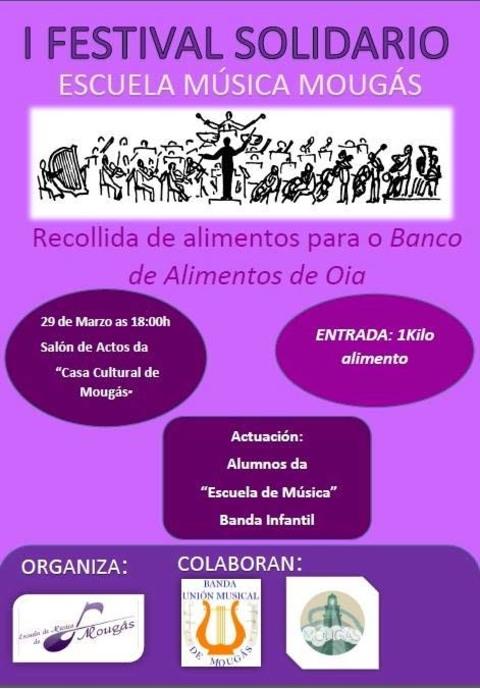 Infominho -  I FESTIVAL SOLIDARIO O 29 DE MARZO EN MOUG�S - OIA - INFOMI�O - Informacion y noticias del Baixo Mi�o y Alrededores.