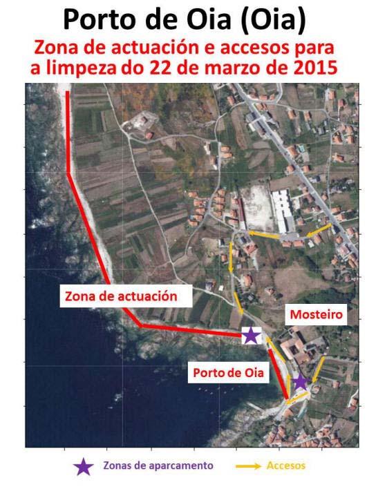 Infominho -  ANABAM ORGANIZA UNHA LIMPEZA COSTEIRA O DOMINGO 22 DE MARZO EN OIA - INFOMI�O - Informacion y noticias del Baixo Mi�o y Alrededores.
