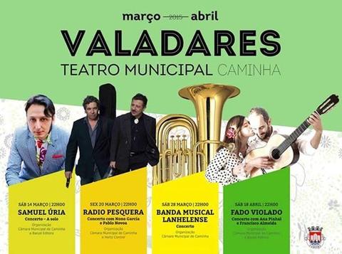 Infominho -  PROGRAMACI�N TEATRO VALADARES CAMINHA MARZO-ABRIL 2015 - INFOMI�O - Informacion y noticias del Baixo Mi�o y Alrededores.
