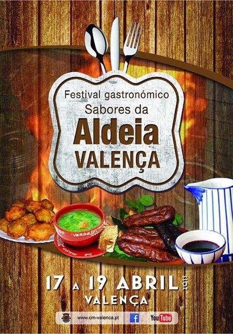 Infominho -  FESTIVAL GASTRON�MICO SABORES DA ALDEIA DE 17 A 19 DE ABRIL NA FORTALEZA DE VALEN�A - INFOMI�O - Informacion y noticias del Baixo Mi�o y Alrededores.