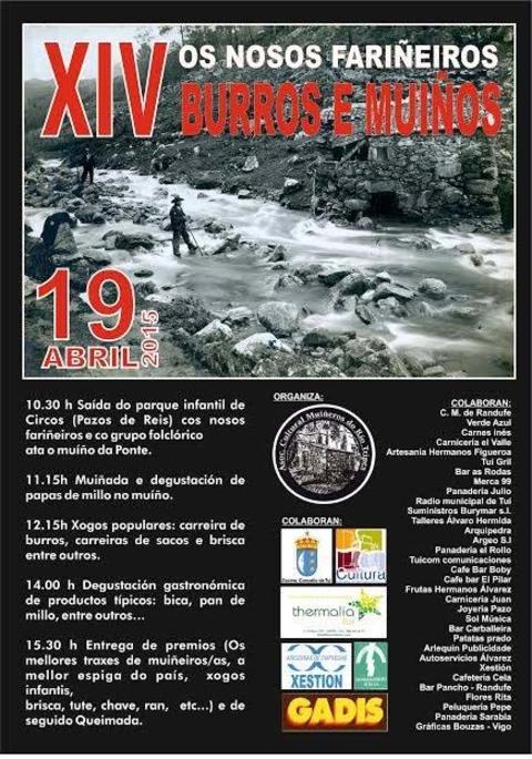 Infominho -  XIV OS NOSOS FARI�EIROS BURROS E MUI�OS O 19 DE ABRIL DE 2015 EN TUI - INFOMI�O - Informacion y noticias del Baixo Mi�o y Alrededores.