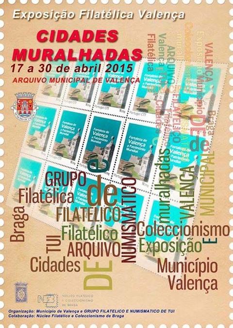 Infominho -  VALEN�A ACOLLE EXPOSICI�N FILAT�LICA DO 17 � 30 DE ABRIL - INFOMI�O - Informacion y noticias del Baixo Mi�o y Alrededores.