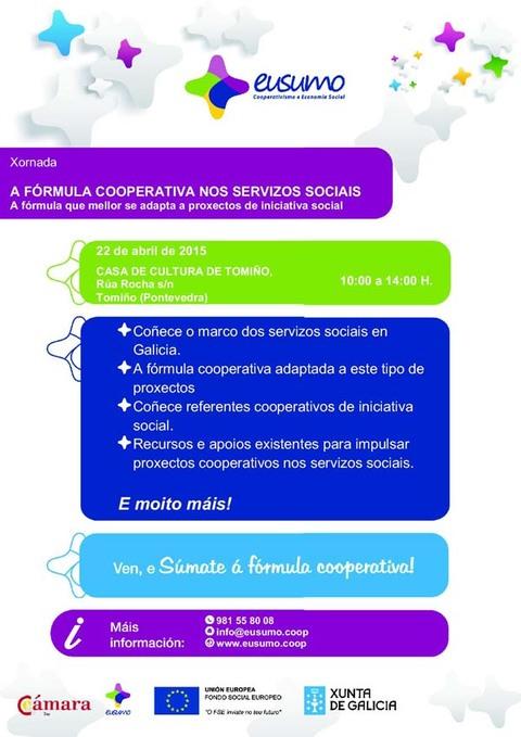 Infominho -  XORNADA -A F�RMULA COOPERATIVA NOS SERVIZOS SOCIAIS- NO CONCELLO DE TOMI�O - INFOMI�O - Informacion y noticias del Baixo Mi�o y Alrededores.