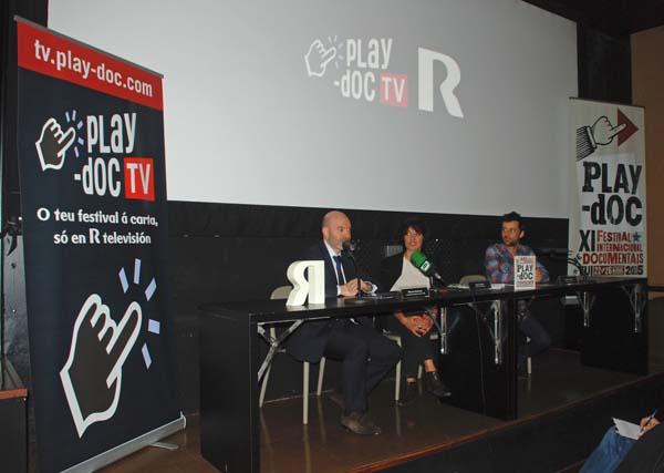 Infominho -  DOCUMENTAIS DO FESTIVAL PLAY-DOC, EN DIRECTO, EN R - INFOMI�O - Informacion y noticias del Baixo Mi�o y Alrededores.