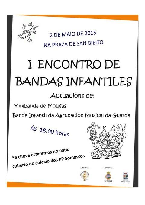 Infominho -  I ENCONTRO DE BANDAS INFANTILES O 2 DE MAIO NA GUARDA - INFOMI�O - Informacion y noticias del Baixo Mi�o y Alrededores.