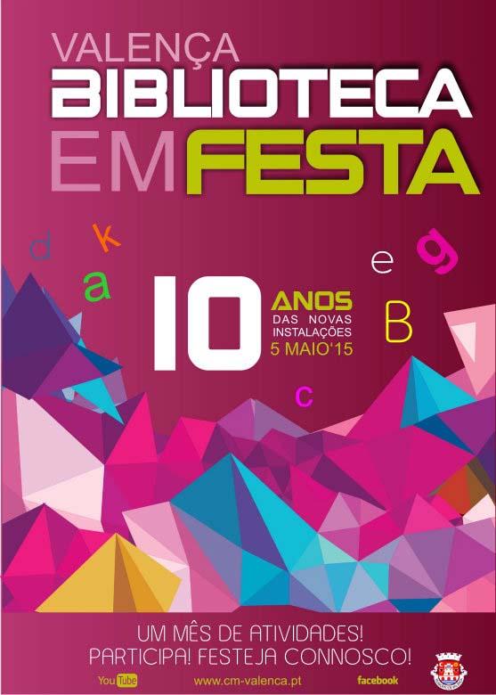 Infominho -  BIBLIOTECA DE VALEN�A EM FESTA - INFOMI�O - Informacion y noticias del Baixo Mi�o y Alrededores.