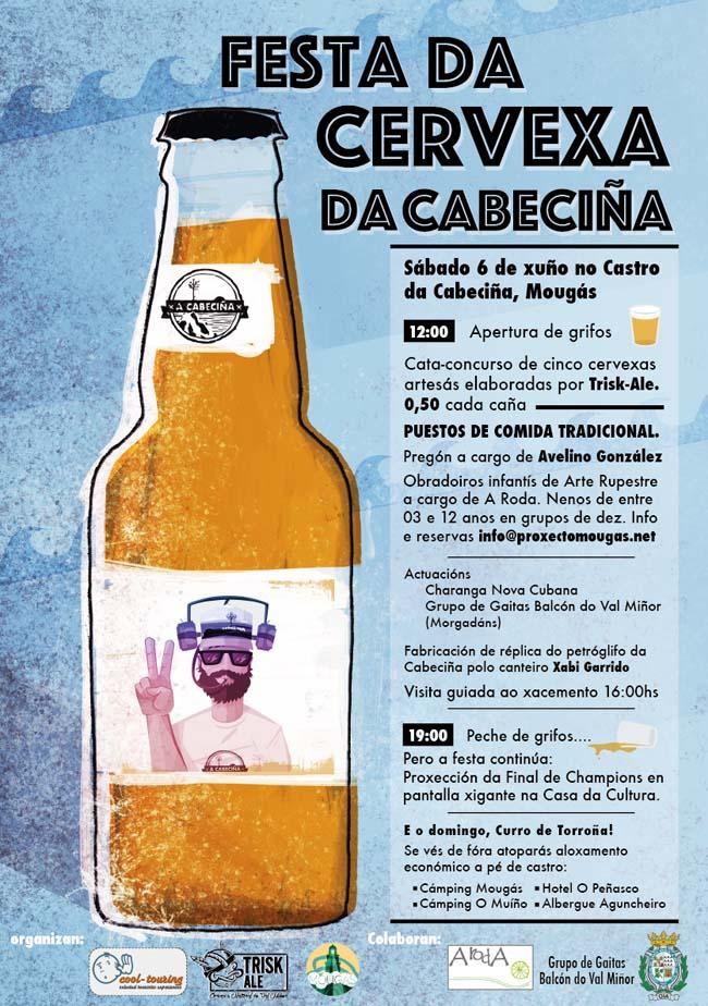 Infominho - A CABECIÑA DE MOUGÁS CELEBRA A SÚA PRIMEIRA FESTA DA CERVEXA ARTESÁ - INFOMIÑO - Informacion y noticias del Baixo Miño y Alrededores.