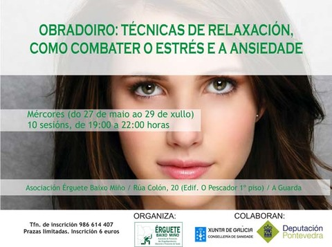 Infominho -  OBRADOIRO  -T�CNICAS DE RELAXACI�N,  COMBATER O ESTR�S E A ANSIEDADE- - INFOMI�O - Informacion y noticias del Baixo Mi�o y Alrededores.