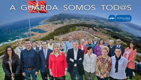 Infominho -  CARMEN FRAGA ARROUPA Á CANDIDATA DA GUARDA, CONCHI ORTEGA - INFOMIÑO - Informacion y noticias del Baixo Miño y Alrededores.
