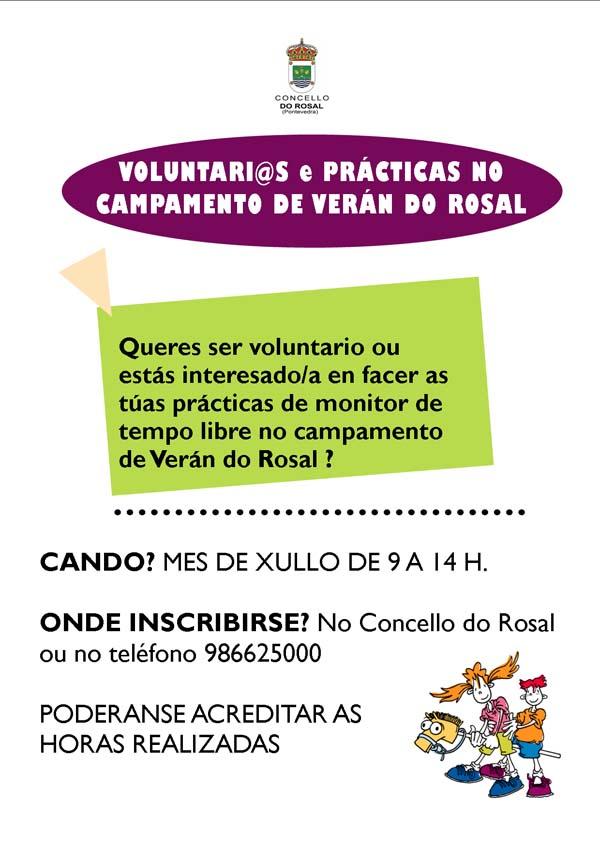 Infominho -  PR�CTICAS DE MONITOR DE TEMPO LIBRE ESTE VER�N NO ROSAL - INFOMI�O - Informacion y noticias del Baixo Mi�o y Alrededores.