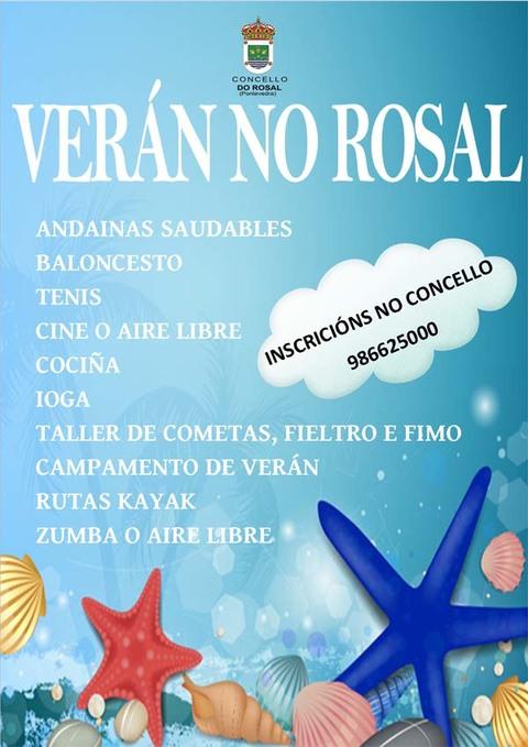 Infominho -  ACTIVIDADES DE VER�N 2015 NO ROSAL - INFOMI�O - Informacion y noticias del Baixo Mi�o y Alrededores.