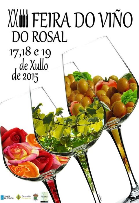 Infominho -  XXIII FEIRA DO VI�O DO ROSAL OS D�AS 17, 18 E 19 DE XULLO DE 2015 - INFOMI�O - Informacion y noticias del Baixo Mi�o y Alrededores.
