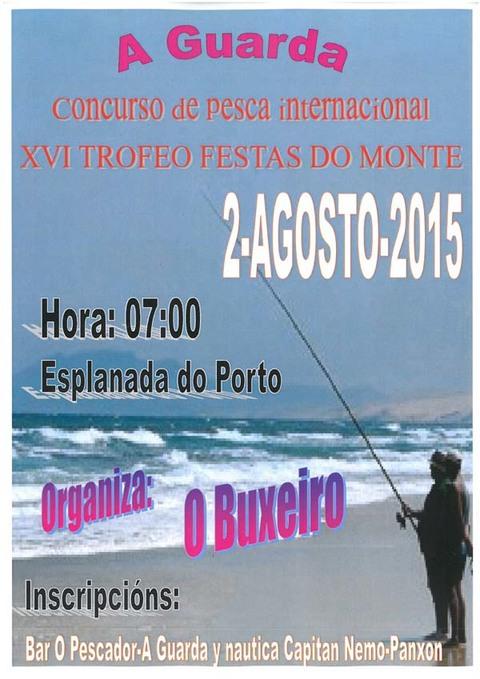 Infominho - XVI TROFEO FESTAS DO MONTE DE PESCA O 2 DE AGOSTO DE 2015 - INFOMIÑO - Informacion y noticias del Baixo Miño y Alrededores.