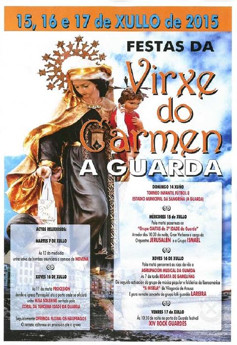 Infominho -  FESTAS VIRXE DO CARME 2015 NA GUARDA DO 15 � 17 DE XULLO - INFOMI�O - Informacion y noticias del Baixo Mi�o y Alrededores.