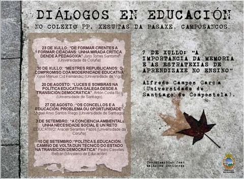 Infominho -  ALFREDO CAMPOS PRESENTA HOXE A CHARLA -A IMPORTANCIA DA MEMORIA E AS ESTRATEXIAS DE APRENDIZAXE NO ENSINO- DENTRO DO CICLO -DI�LOGOS DE EDUCACI�N- - INFOMI�O - Informacion y noticias del Baixo Mi�o y Alrededores.