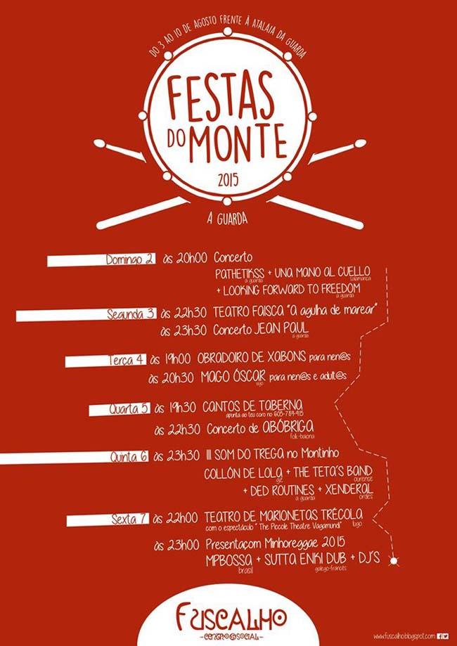 Infominho -  PROGRAMACI�N FESTAS DO MONTE NO CENTRO SOCIAL FUSCALHO - INFOMI�O - Informacion y noticias del Baixo Mi�o y Alrededores.