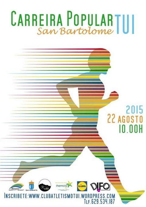 Infominho -  CARREIRA POPULAR SAN BARTOLOME TUI O 22 DE AGOSTO DE 2015 - INFOMI�O - Informacion y noticias del Baixo Mi�o y Alrededores.