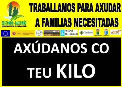 Infominho -  A DESTACADA COLABORACI�N DO P�RROCO DE SAN CAMPIO CON SOS TOMI�O BAIXO MI�O - INFOMI�O - Informacion y noticias del Baixo Mi�o y Alrededores.