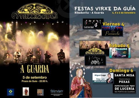 Infominho -  GRANDES FESTAS NA HONRA DA VIRXE DA GU�A DO 4 � 6 DE SETEMBRO NA GUARDA - INFOMI�O - Informacion y noticias del Baixo Mi�o y Alrededores.