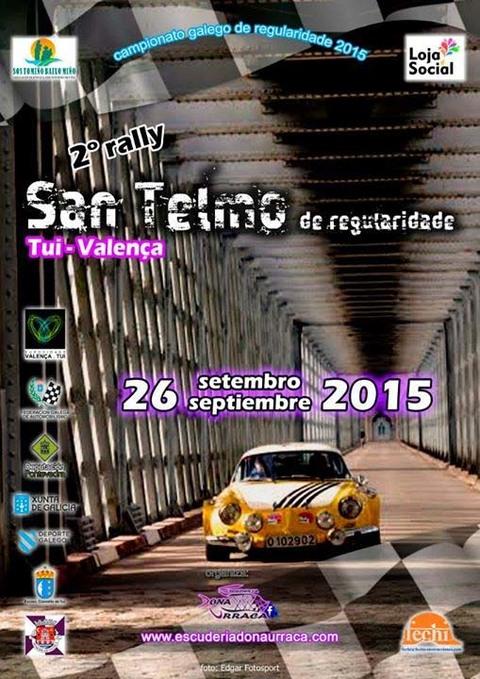 Infominho -  2� RALLY SAN TELMO DE REGULARIDADE O 26 DE SETEMBRO DE 2015 - INFOMI�O - Informacion y noticias del Baixo Mi�o y Alrededores.