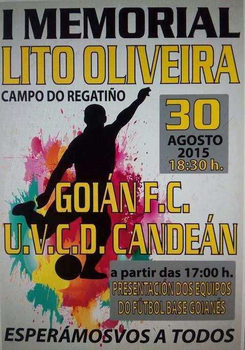 Infominho -  I MEMORIAL LITO OLIVEIRA O 30 DE AGOSTO NO CAMPO DO REGATI�O DE GOI�N - INFOMI�O - Informacion y noticias del Baixo Mi�o y Alrededores.
