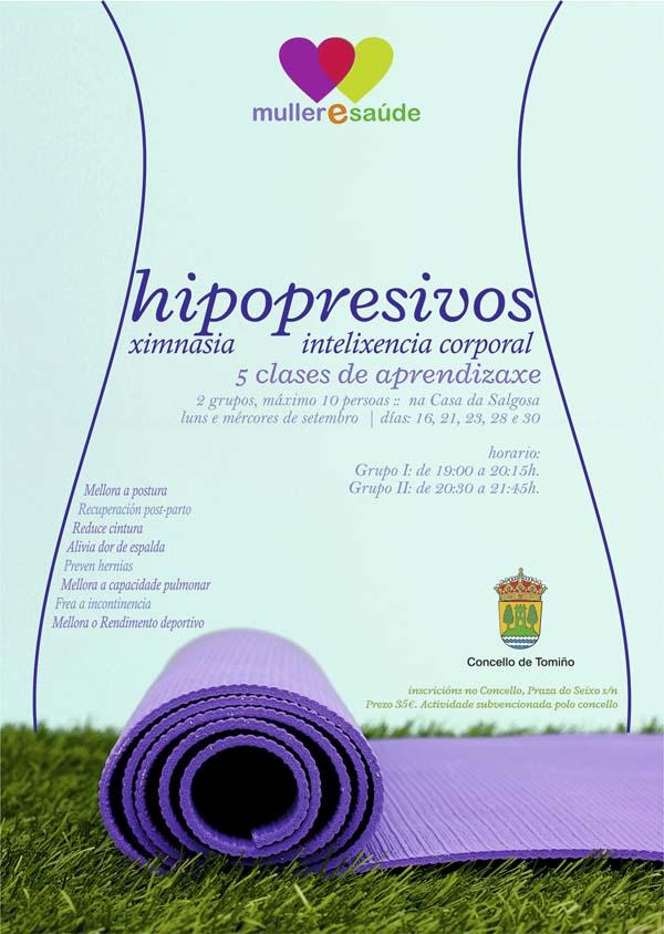 Infominho -  INSCRICI�N PARA NOVAS CLASES DE XIMNASIA HIPOPRESIVA EN TOMI�O - INFOMI�O - Informacion y noticias del Baixo Mi�o y Alrededores.