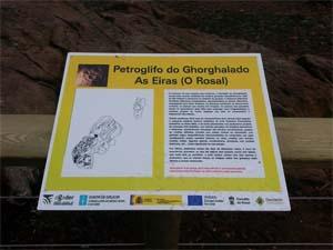 Infominho - POSTA EN VALOR DO PETROGLIFO DO GHORGHALADO NO ROSAL - INFOMIÑO - Informacion y noticias del Baixo Miño y Alrededores.
