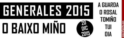 Infominho - RESULTADOS ELECCIONES GENERALES 2015 EN O BAIXO MIÑO - INFOMIÑO - Informacion y noticias del Baixo Miño y Alrededores.