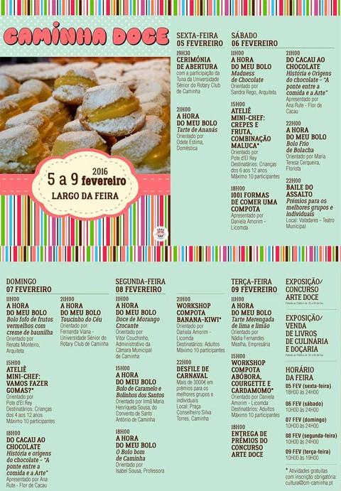 Infominho -  CAMINHA DOCE ARRANCA SEXTA-FEIRA - INFOMI�O - Informacion y noticias del Baixo Mi�o y Alrededores.