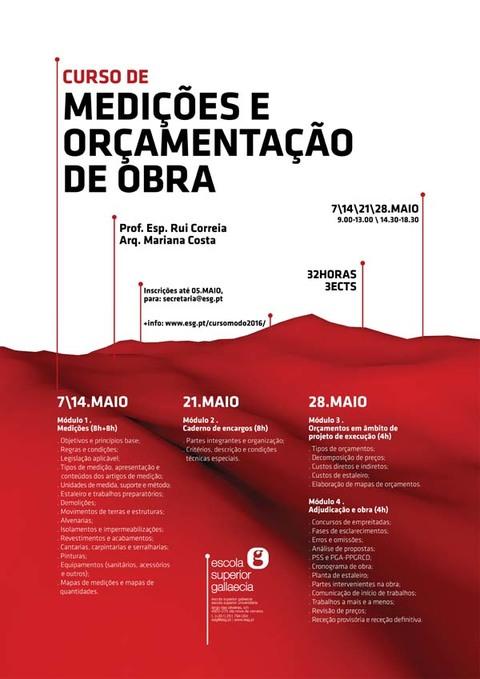 Infominho -  CURSO DE MEDI��ES E OR�AMENTA��O DE OBRA NA ESG DE CERVEIRA - INFOMI�O - Informacion y noticias del Baixo Mi�o y Alrededores.