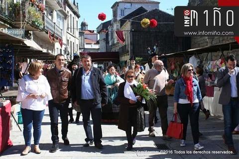 Infominho -  ESPECIAL - TUI DINAMIZA O CONXUNTO HIST�RICO COA XX FEIRA DE ARTESAN�A - INFOMI�O - Informacion y noticias del Baixo Mi�o y Alrededores.