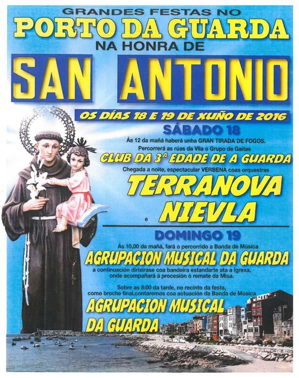 Infominho -  GRANDES FESTAS NO PORTO DE A GUARDA NA HONRA DE SAN ANTONIO O 18 E 19 DE XU�O - INFOMI�O - Informacion y noticias del Baixo Mi�o y Alrededores.