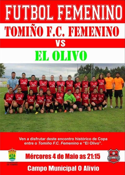Infominho -  ESTE M�RCORES TOMI�O FC FEMENINO - EL OLIVO - INFOMI�O - Informacion y noticias del Baixo Mi�o y Alrededores.