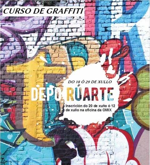 Infominho -  Curso de graffiti para a mocidade guardesa dentro do programa da Deputaci�n de Pontevedra -Depo R�arte- - INFOMI�O - Informacion y noticias del Baixo Mi�o y Alrededores.